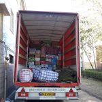 اتوبار شرق وطن بار شرق با انواع کامیون 6 متری اماده خدمات رسانی است